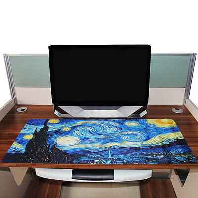 Wide Large XL Size Gaming Mouse Pad Keyboard Computer Table PC Mat Anti-Slip Mat
