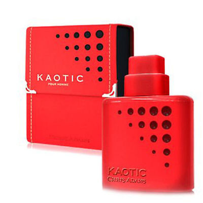 New Chris Adams Kaotic Red Pour Homme Designer 100ml Aftershave/EDT