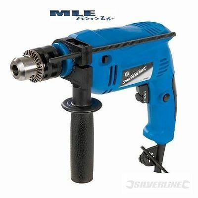 DIY 500W Compact Hammer Drill power tool DIY Corded Silverline 265897