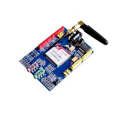 SIMCOM SIM900 Quad-band GSM GPRS Shield Development Board + Antenna for Arduino