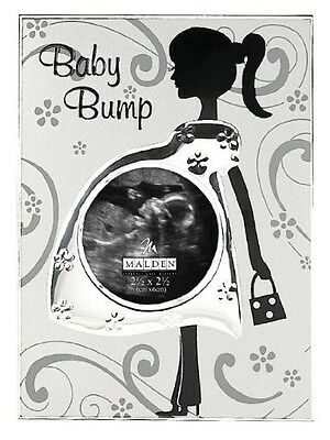 Baby Bump Pregnancy Ultrasound Photo Frame - Great Maternity Mum / Newborn Gift