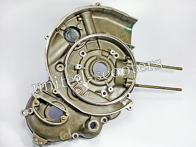 Vespa Lml 5 Port T5 Star Crank Case Flywheel Side Small With Spares P1031