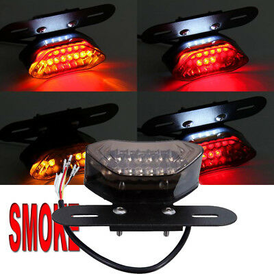 Motorcycle Tail Light Choppers Dirt Bike Maltese Cross Led Rear License Plate Tail Light For Most Dual Sport/dirt Bikes Quads Automobiles & Motorcycles
