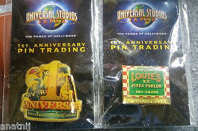Universal Studio Japan First 1st Anniversary Pin Trading / Woody Woodpecker