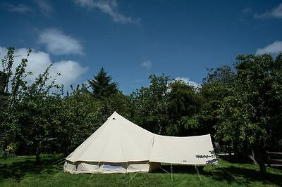 Large Awning Plus ONLY. 4m, 5m, 6m Bell Tent. 400 x 260cm. Eyelets all corners.
