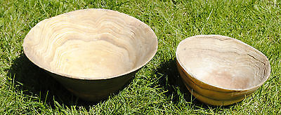 Two Ancient South Arabian Near Eastern Stone Bowls 2Nd-1 St Millennium Bc