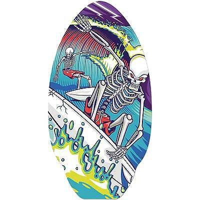 Toyrific Children's Skeleton Surfers 9 Ply Wooden Skimmer Board Skimboard, 30""