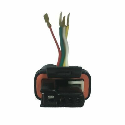 Chevy GM Alternator Repair Harness Plug Connector 4 Wire new alternator lead repair 3 wire & plug denso regulator harness  at gsmx.co