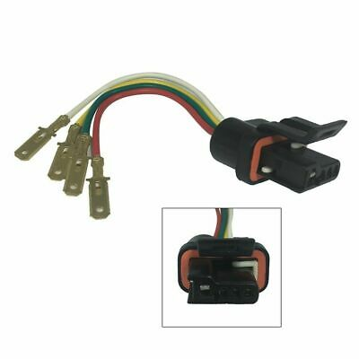 For GM Delco Chevy Alternator regulator connector plug harness pigtaiL W/Male Pg