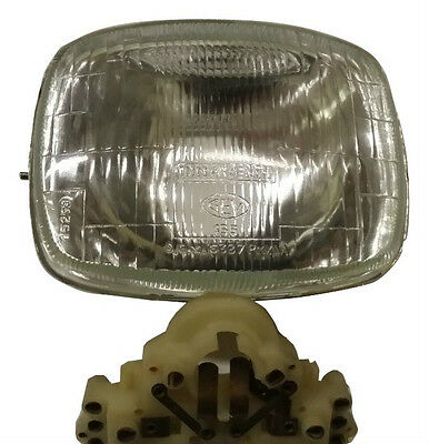 ukscooters LAMBRETTA GP HEADLIGHT INNOCENTI CEV MARKED HEAD LAMP  NYLON JUNCTION