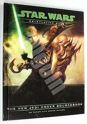 Star Wars d20 ROLEPLAYING GAME THE NEW JEDI ORDER SOURCEBOOK 2002 Wizards