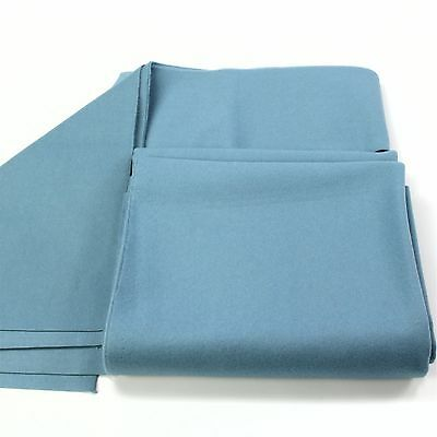 CLEARANCE! Hainsworth SMART Bed & Cushion Set for 7ft UK Pool Table –POWDER BLUE