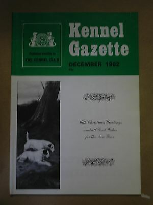 Kennel Gazette The Art of Showing Show Trials Guide December 1982 Magazine S894