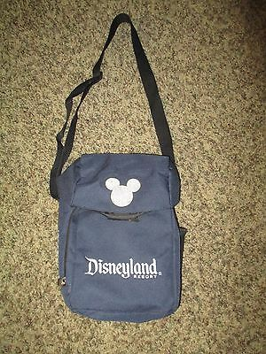 Disneyland Resort Cross Body Travel Bag Dark Blue