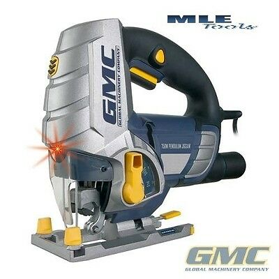 GMC 240V 750W Pendulum Action Jigsaw with Laser Guide LJS750CF 920308