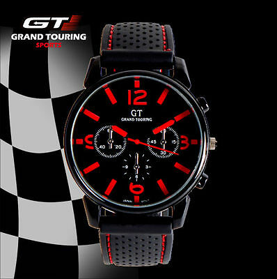 Men's Watches Quartz Stainless Steel Analog Sports New Wrist Watch