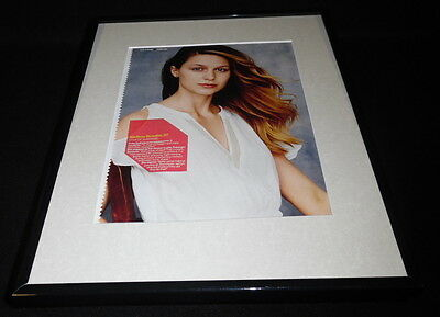 Melissa Benoist 2016 Supergirl Framed 11x14 Photo Display