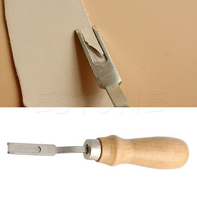 Leather Craft Edge Skiving Cutting Beveler Leather Specialist DIY Craft Tool New