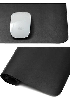 LL Portable Leather Oversized Mouse Pad Waterproof Office Desk Pad Mat 80*40cm