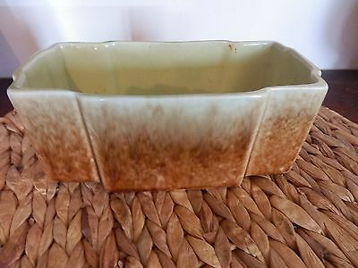 1930's Trent Art Ware Trough Vase by Bakewells Sydney