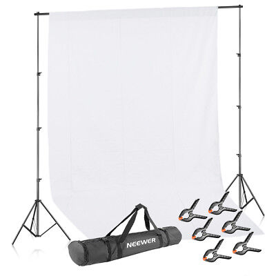Neewer Studio 8.5x10FT Background Stand Support System Kit with Backdrop Clamps