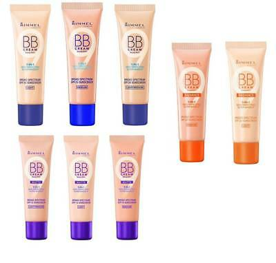 RIMMEL SKIN PERFECTING BB CREAM 30ml CHOOSE YOUR SHADE