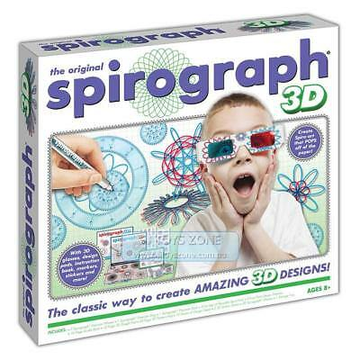 Spirograph 3D Complete Design Kit Fun Kids Creative Drawing Activity For Young A