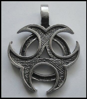 PEWTER CHARM #1168 CELTIC (40mm x 32mm) 1 bail PENDANT