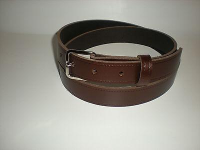 childrens brown leather belt