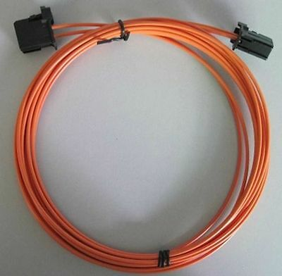 MOST fiber optic optical cable male to male for BMW Mercedes Audi Porsche 1M