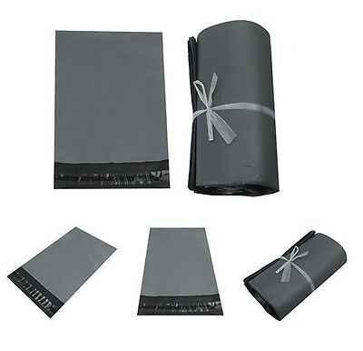 "UK New Strong Grey Packaging Postal Mailing Bags All Sizes ""OFFER"""