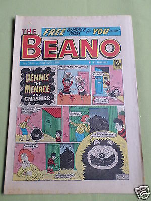 The Beano  - Uk Comic -  30 June 1984 - # 2189- Free Gift Not Included