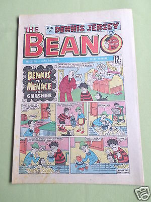 The Beano  - Uk Comic - 9 June 1984   - #2186