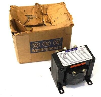 New Westinghouse 1F1007 Type Mtc Transformer .100 Kva, 60 Cycles