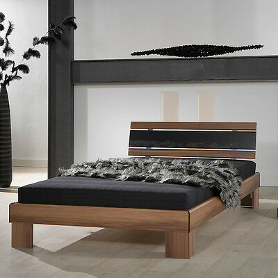 wei es massivholz bettgestell 120x200 cm lattenrollrost einzelbett w eur 159 95. Black Bedroom Furniture Sets. Home Design Ideas