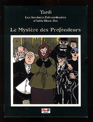 LES MYSTERES D' ADELE BLANC SEC  cahier + emboitage Canal bd  1998