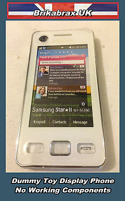 Samsung S-5260 Dummy Toy Mobile Phone Not Real Display Handset New #H21