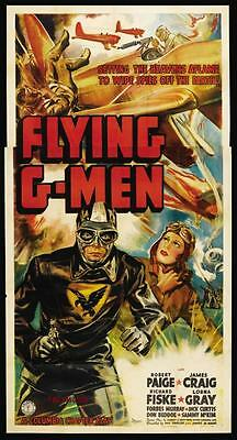 Flying G-Men  - Cliffhanger Serial Movie DVD Robert Paige Richard Fiske