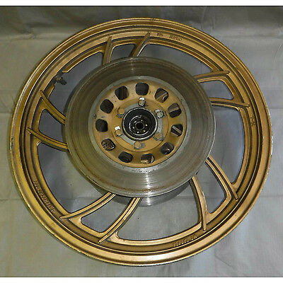 Front Wheel Rim Yamaha w/ 2 Discs RD350 LC RD 350 LC 18 inches 1981 81