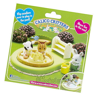 Calico Critters - Baby Pool & Sandbox Play Set - CC2681