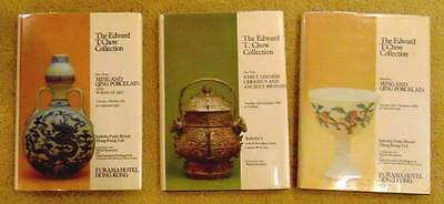 Sotheby's The Edward T. Chow Collection 3 Rare Volume Collection