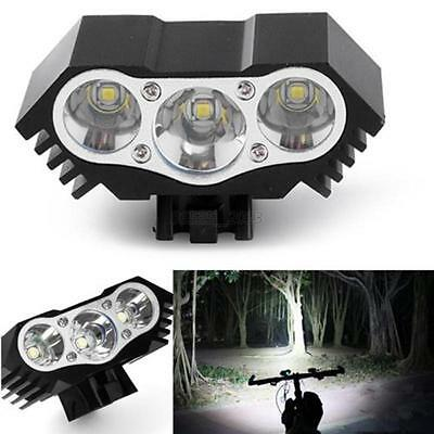 ReChargeable 10000LM 3X CREE XML T6 USB LED Bicycle Bike Lamp Outdoor Headlight