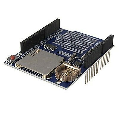 Data Logger Module Logging Shield Data Recorder Shield for Arduino UNO w SD Card