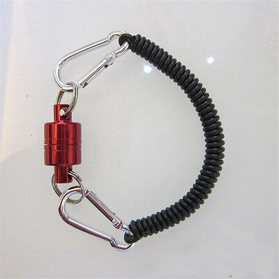 Walk Sticks Pliers Landing Trout Net Magnetic Release Holder with Cord