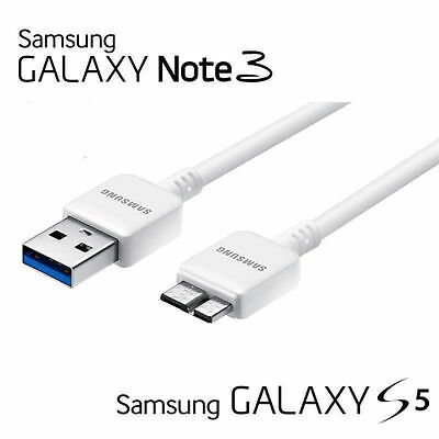 New Original OEM Samsung Galaxy Note 3 S5  N900 USB 3.0 Data Sync Cable Charger