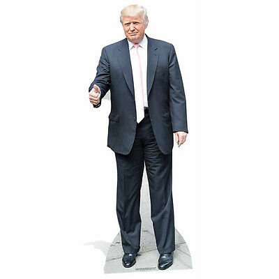 DONALD TRUMP President of the USA v3 CARDBOARD CUTOUT Standee Standup Poster F/S