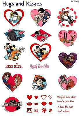 Disney Hugs & Kisses Brother Machine Embroidery Designs PES CD,USB