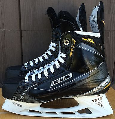 Bauer Supreme MX3 Mens Pro Stock Hockey Skates Size 10.5 E Left 10 E Right 5479