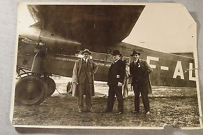 FOKKER F.VIIb/3m Trimotor Aircraft CIDNA French-Romanian Airlines ca. 1931