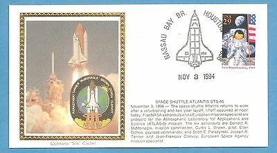 Colorano STS-66 Space Shuttle Atlantis Launch Houston Mission Insignia Cover